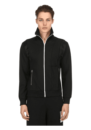 Tuxedo Zip-up Jersey Track Jacket
