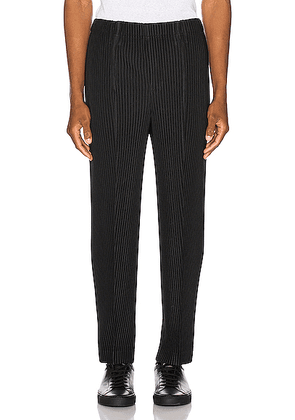 Issey Miyake Homme Plisse Tailored Pleats 2 Trousers in Black - Black. Size 3 (also in ).