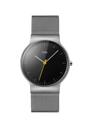 Classic Slim Stainless Steel Mesh Strap Watch