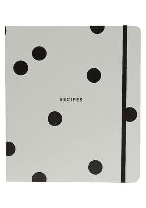 Dotted Recipe Book