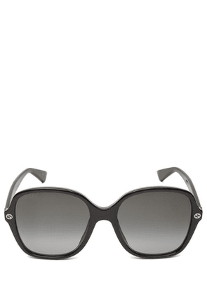 Oversized Rounded Square Acetate Sunglasses