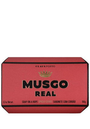 Musgo Real Spiced Citrus Soap On A Rope 190G