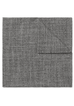 Oliver Spencer - Cotton Pocket Square - Gray