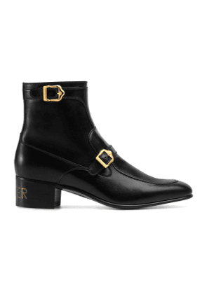 Leather boot with 'Sucker'