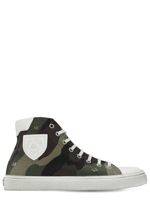 20mm Bedford Cotton Canvas Sneakers