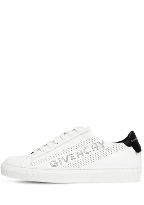 20mm Urban Perforated Leather Sneakers