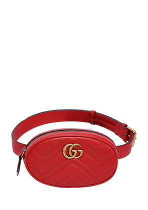 Gg Marmont 2.0 Leather Belt Bag