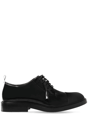 20mm Brushed Leather Lace-up Shoes