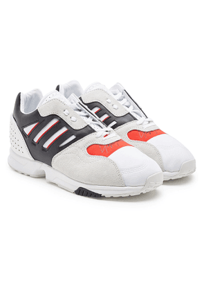 Y-3 ZX Run Suede Sneakers with Leather