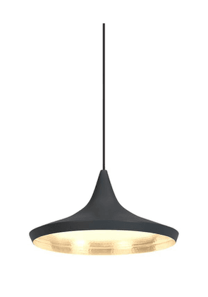 Wide Beat Pendant Light