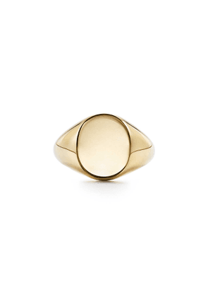 Signet ring in 18k gold - Size 9