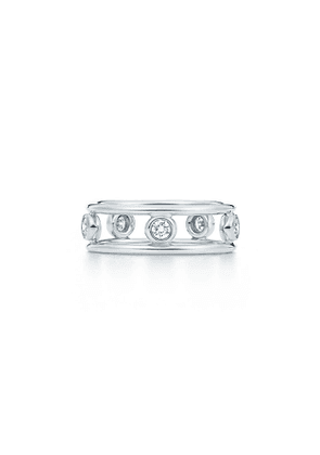 Elsa Peretti® Diamonds by the Yard® ring in platinum with diamonds - Size 6