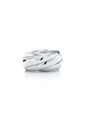 Paloma's Melody five-band ring in sterling silver - Size 8