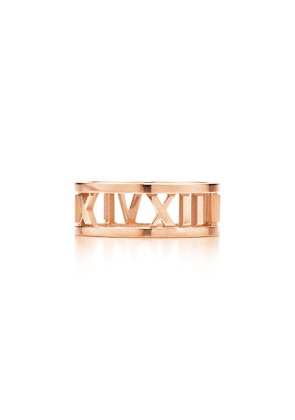 Atlas® open ring in 18k rose gold - Size 6 1/2