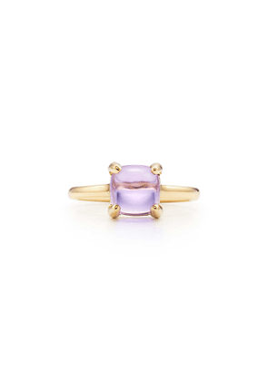 Paloma's Sugar Stacks ring in 18k gold with a lavender amethyst - Size 6