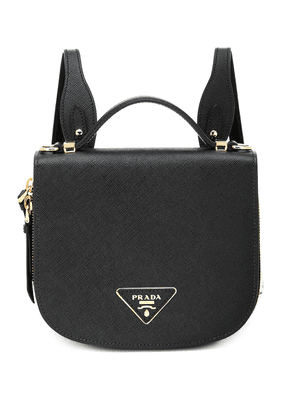 Odette saffiano leather backpack