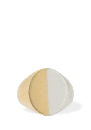 Bicolor Thick Ring