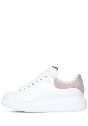 40mm Leather & Suede Sneakers