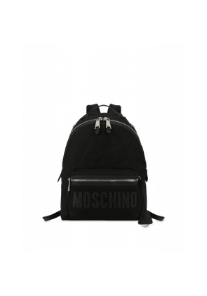 Quilted Cordura Nylon Backpack