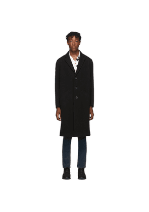 Nudie Jeans Black Ruben Coat