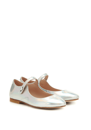 Belinda leather ballet flats
