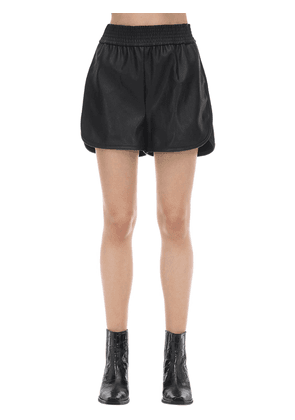 Stella Faux Leather Shorts