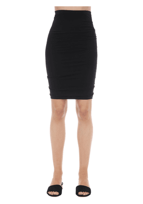 Fatal Fitted Microfiber Skirt
