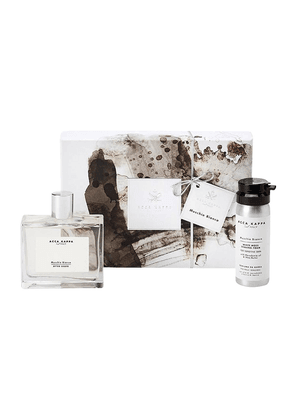 White Moss Gift Set of Aftershave 100ml and Shaving Foam 50ml