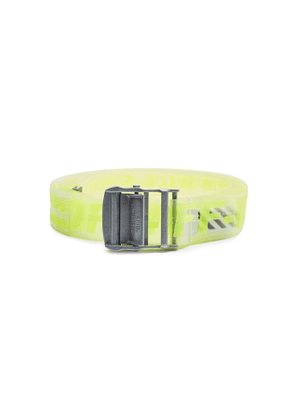 Off-White Industrial Rubber Belt