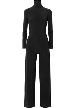 Norma Kamali - Stretch-jersey Turtleneck Jumpsuit - Black