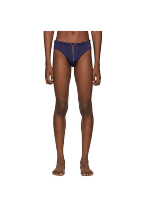 Missoni Navy Drawstring Swim Briefs