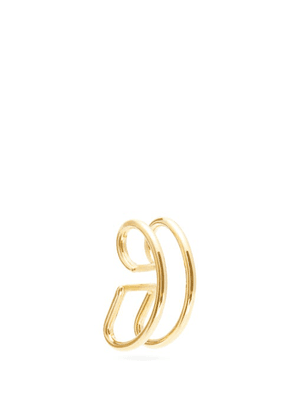 Ana Khouri - Jamie 18kt Gold Ear Cuff - Womens - Gold