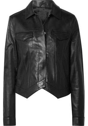 RtA - Leather Jacket - Black