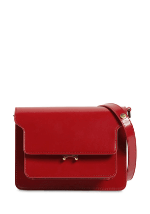 Medium Trunk Polished Leather Bag