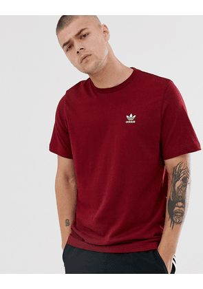 adidas Originals t shirt with stripes and central logo in
