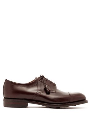 Cheaney - Thomas Leather Derby Shoes - Mens - Burgundy