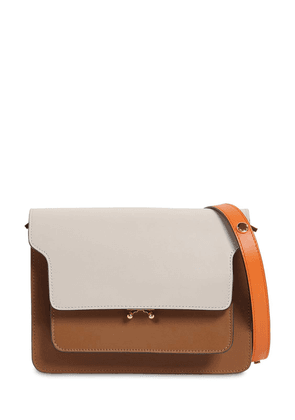 Medium Trunk Smooth Leather Bag