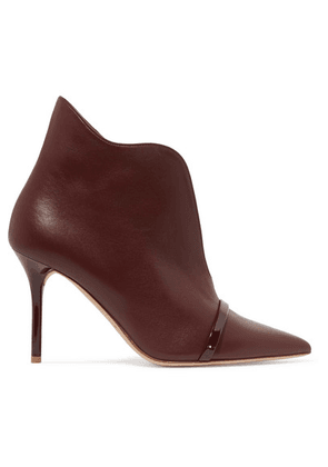 Malone Souliers - Cora 85 Leather Ankle Boots - Burgundy