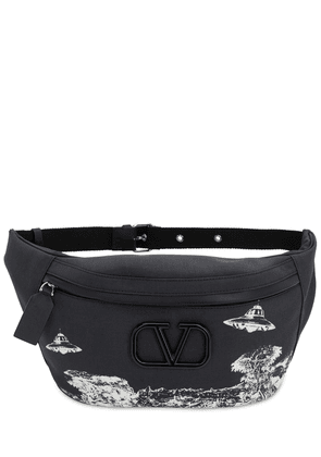 Vu Time Traveler Printed Nylon Belt Bag