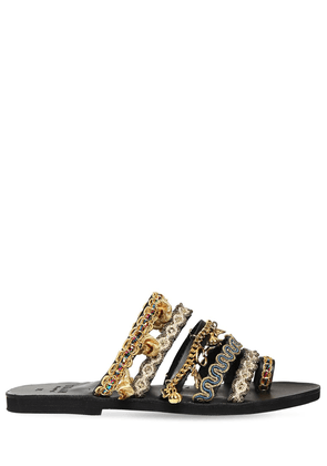 10mm Serlida Embroidered Sandals