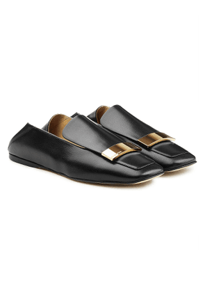 Sergio Rossi Leather Loafers