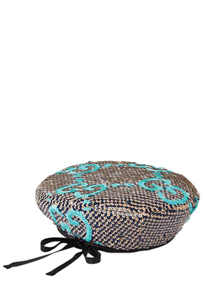 Sequined Gg Basco Hat