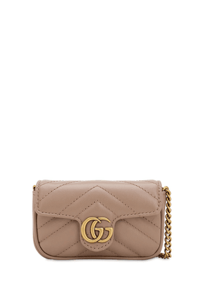 Gg Marmont 2.0 Leather Coin Case