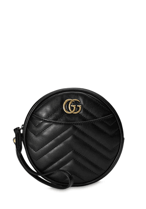 Gg Marmont 2.0 Round Leather Clutch