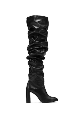 Stuart Weitzman - The Histyle Boot In Black - Size 35.5