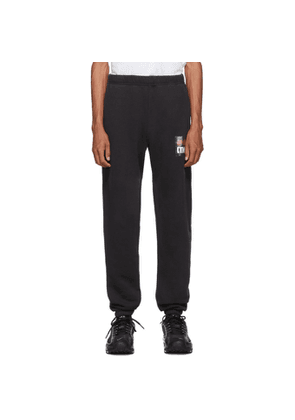 Heron Preston Black Style Dots Lounge Pants