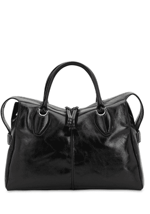 Any Leather Top Handle Bag