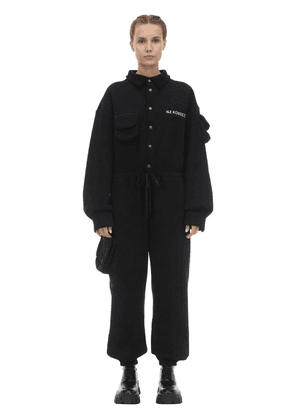 Heavy Cotton Jersey Jumpsuit