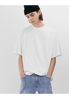 Weekday Great t-shirt in white