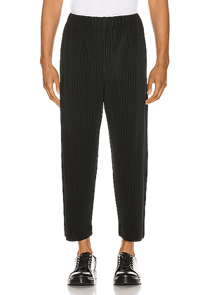 Issey Miyake Homme Plisse Tailored Pants in Black - Black. Size 1 (also in 2,3).